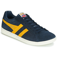 Shoes Men Low top trainers Gola EQUIPE SUEDE Blue / Yellow