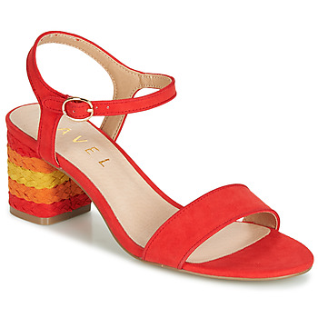 Shoes Women Sandals Ravel CLEMONT Orange