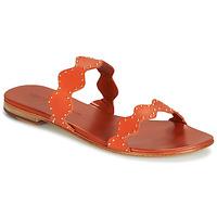 Shoes Women Sandals Melvin & Hamilton HANNA 46 Orange