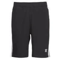 material Men Shorts / Bermudas adidas Originals 3 STRIPE SHORT Black