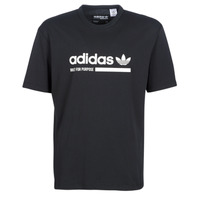 material Men short-sleeved t-shirts adidas Originals SNAPI Black