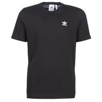material Men short-sleeved t-shirts adidas Originals ESSENTIAL T Black