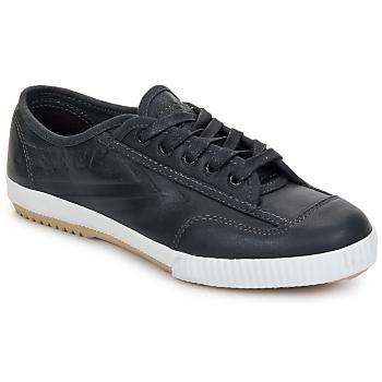 Shoes Low top trainers Feiyue FE LO PLAIN CHOCO Black