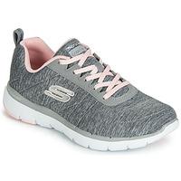 Shoes Women Low top trainers Skechers FLEX APPEAL 3.0 INSIDERS Grey