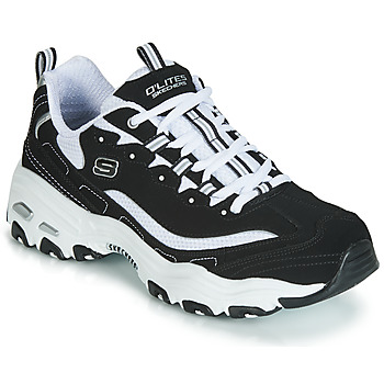 Shoes Men Low top trainers Skechers D'LITES  black