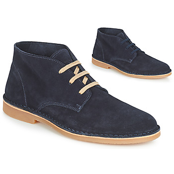 Shoes Men Mid boots Selected ROYCE DESERT LIGHT SUEDE Marine