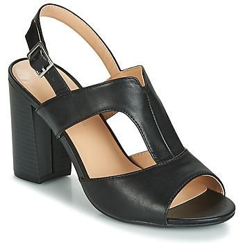 Shoes Women Sandals Moony Mood JALILIA Black