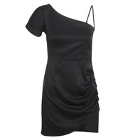 material Women Short Dresses LPB Woman AZITARE Black