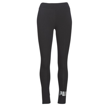 material Women leggings Puma ESS LOGO LEGGING Black