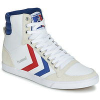 Shoes High top trainers Hummel TEN STAR HIGH CANVAS White / Blue / Red