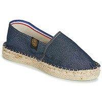 Shoes Women Espadrilles Art of Soule DOUBLE SEMELLE Marine