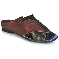 Shoes Women Mules Papucei KEPLER Black / Bordeaux
