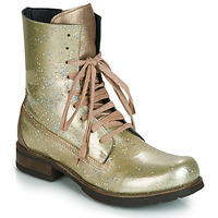 Shoes Women Mid boots Papucei JANET Green / Beige