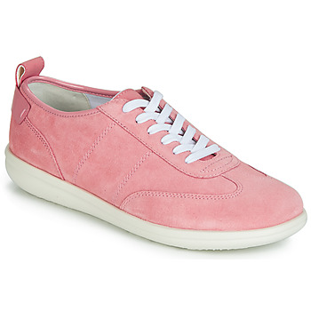 Shoes Women Low top trainers Geox D JEARL Pink