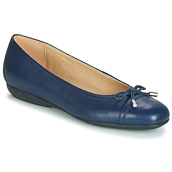 Shoes Women Ballerinas Geox D ANNYTAH Blue