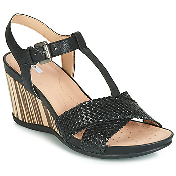 Shoes Women Sandals Geox D DOROTHA Black