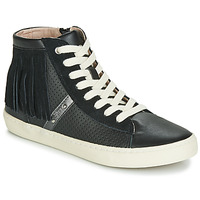 Shoes Girl High top trainers Geox J KILWI GIRL Black