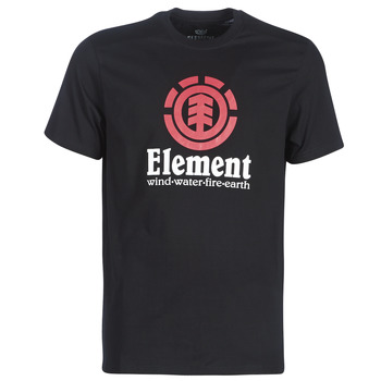 material Men short-sleeved t-shirts Element VERTICAL SS Black