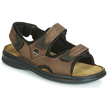 Shoes Men Sandals Josef Seibel FRANKLIN Brown