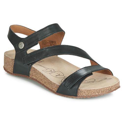 Shoes Women Sandals Josef Seibel TONGA 25 Black