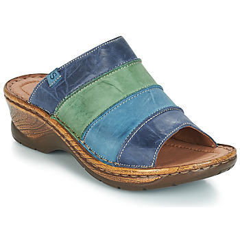 Shoes Women Mules Josef Seibel CATALONIA 64 Blue