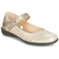 Shoes Women Ballerinas Dorking 7883 Gold