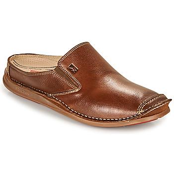 Shoes Men Mules Fluchos NAUTILUS Brown