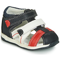 Shoes Boy Sandals Chicco GABRIEL Blue / White / Red