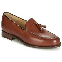 Shoes Men Loafers Barker STUDLAND Brown