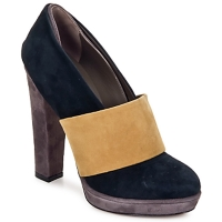 Shoes Women Court shoes Kallisté BOTTINE 5854 Grey-mustard