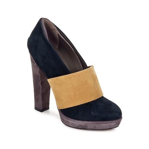 Shoes Women Court shoes Kallisté BOTTINE 5854 Grey-mustard