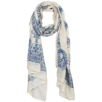 Clothes accessories Women Scarves André BISOU Blue