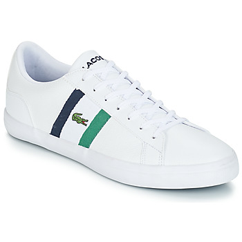 Shoes Men Low top trainers Lacoste LEROND 119 3 White / Marine