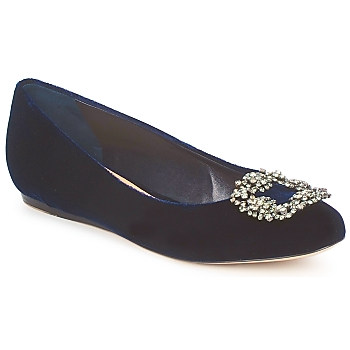 Shoes Women Ballerinas Sebastian ELIAJU Blue