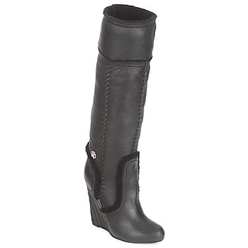Shoes Women Boots Roberto Cavalli QDS598-PJ007 Black