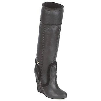 Shoes Women Boots Roberto Cavalli QDS598-PJ007 Black
