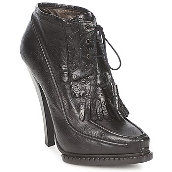 Shoes Women Ankle boots Roberto Cavalli QDS640-PZ030 Black