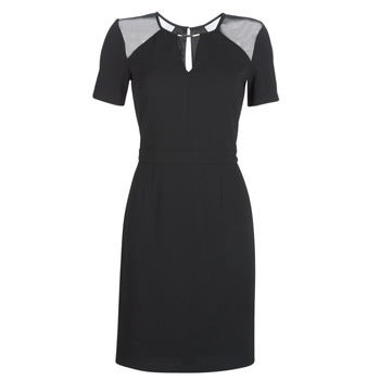 material Women Short Dresses Morgan RLUNA Black