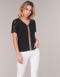 material Women Blouses Morgan OSALI Black
