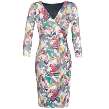 material Women Short Dresses Smash DAPHNE Multicolour