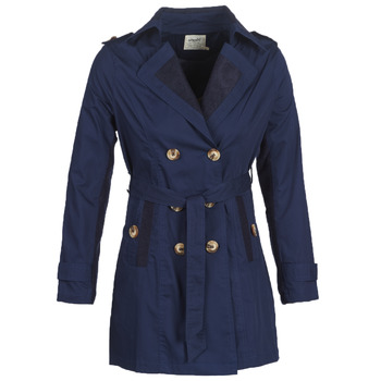 material Women Trench coats Smash ANNABEL Marine