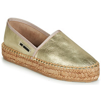 Shoes Women Espadrilles Love Moschino JA10223G07 Gold