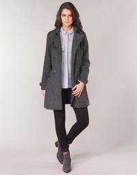 material Women coats Casual Attitude HAIELLI Grey