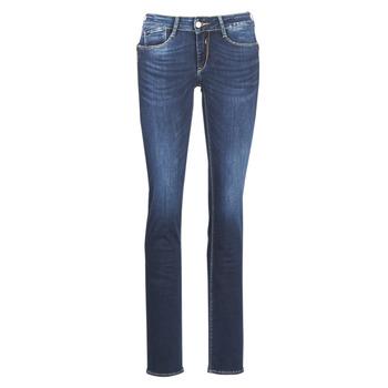 material Women straight jeans Le Temps des Cerises PULP REGULAR Blue