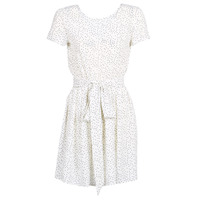 material Women Short Dresses Le Temps des Cerises MARILYN White