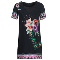 material Women Short Dresses Desigual BARTA Black