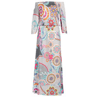 material Women Long Dresses Desigual DERA White