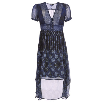 material Women Long Dresses Desigual MINALI Marine