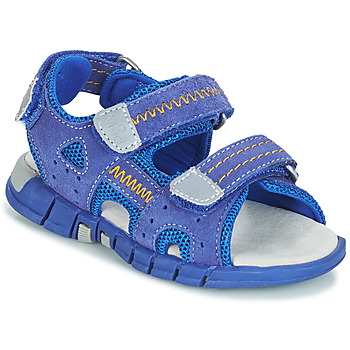 Shoes Boy Sandals Mod'8 TRIBATH Blue