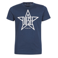 material Men short-sleeved t-shirts Diesel T DIEGO YH Marine